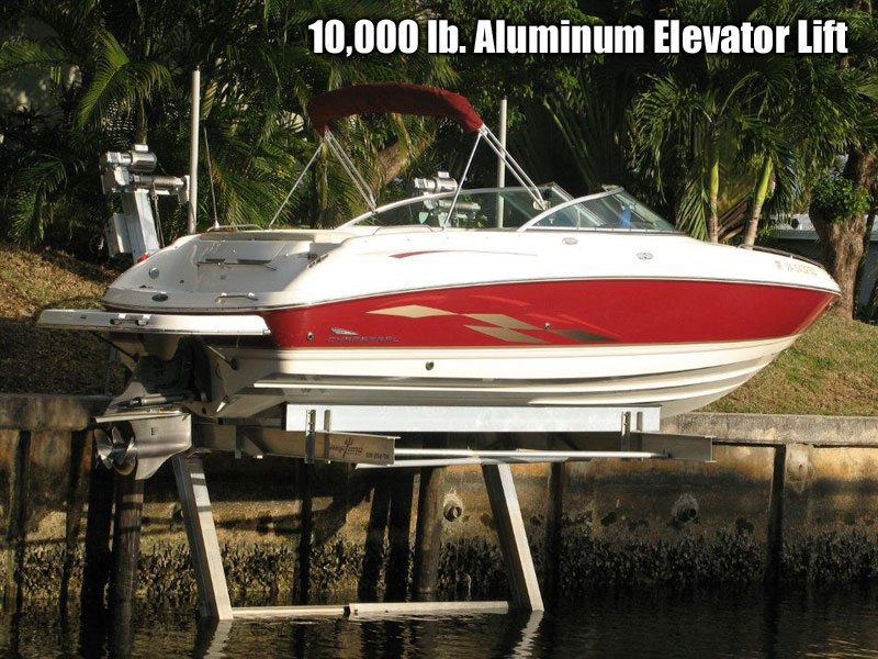 10,000 lb. Aluminum Elevator Lift