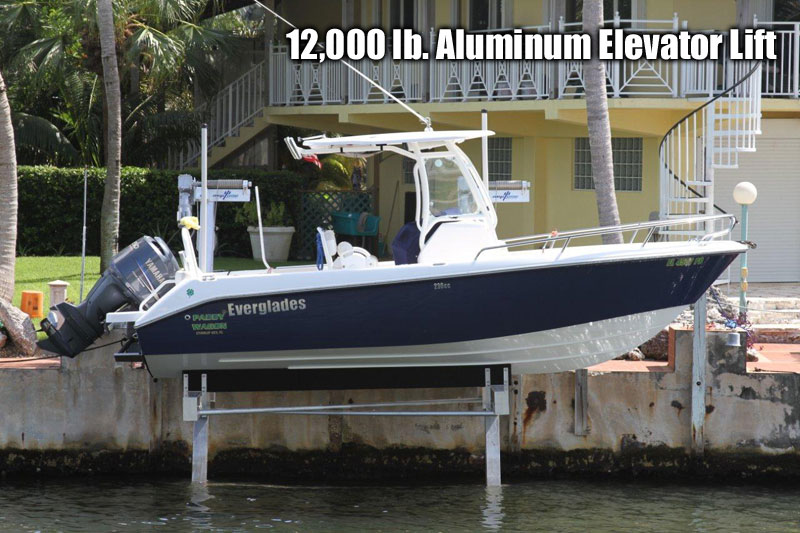 12,000 lb. Aluminum Elevator Lift