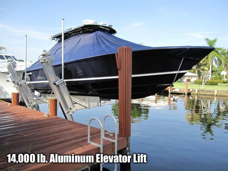 14,000 lb. Aluminum Elevator Lift