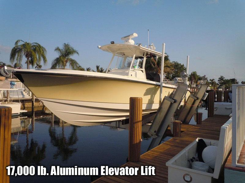 17,000 lb.  Aluminum Elevator Lift