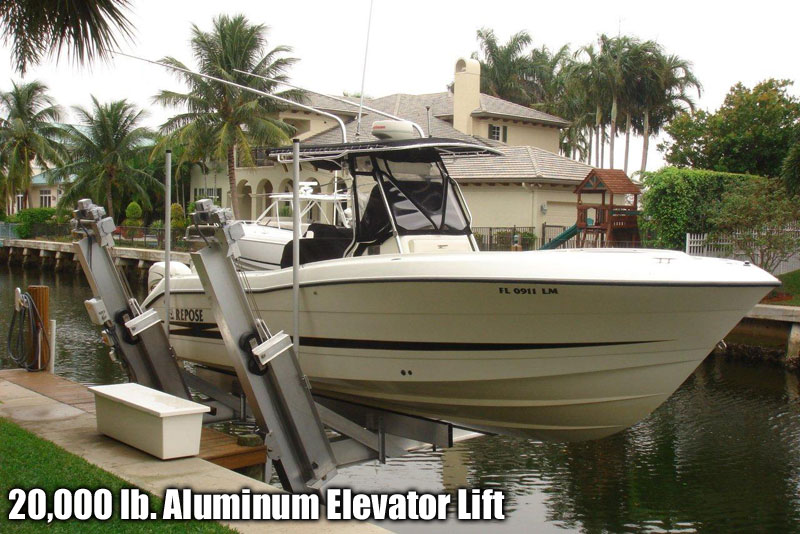 20,000 lb.  Aluminum Elevator Lift