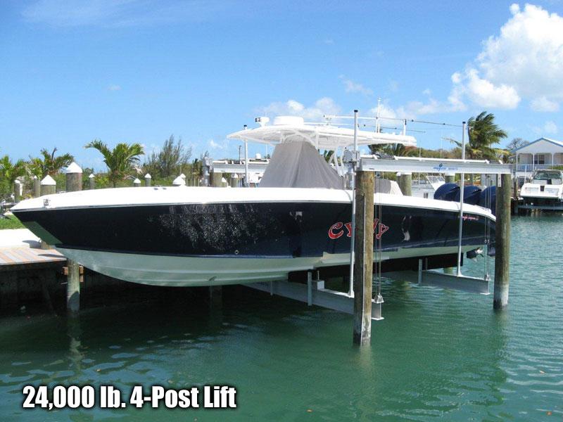 24,000 lb. 4 Post Lift