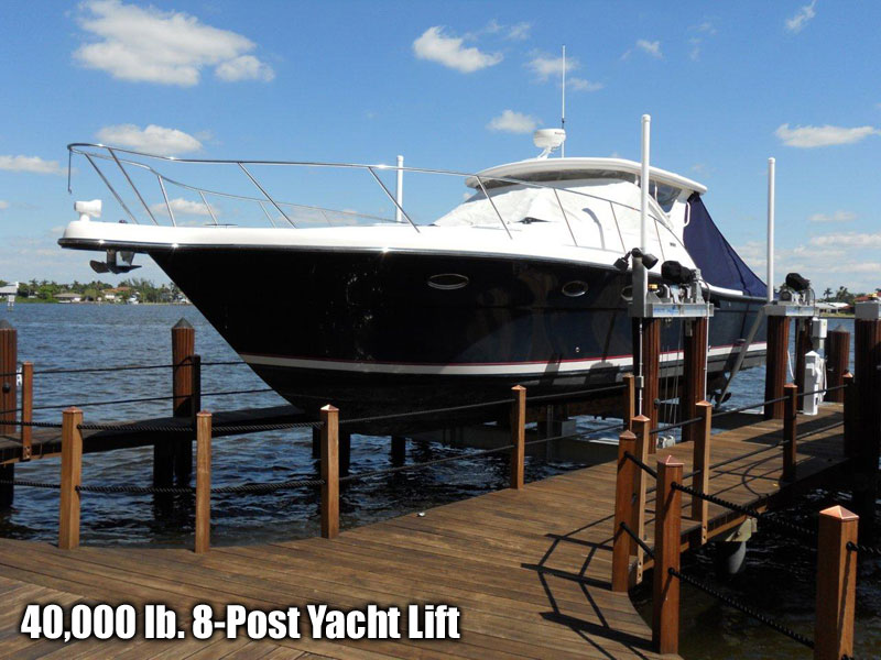 40,000 lb. 8-Post Yacht Lift
