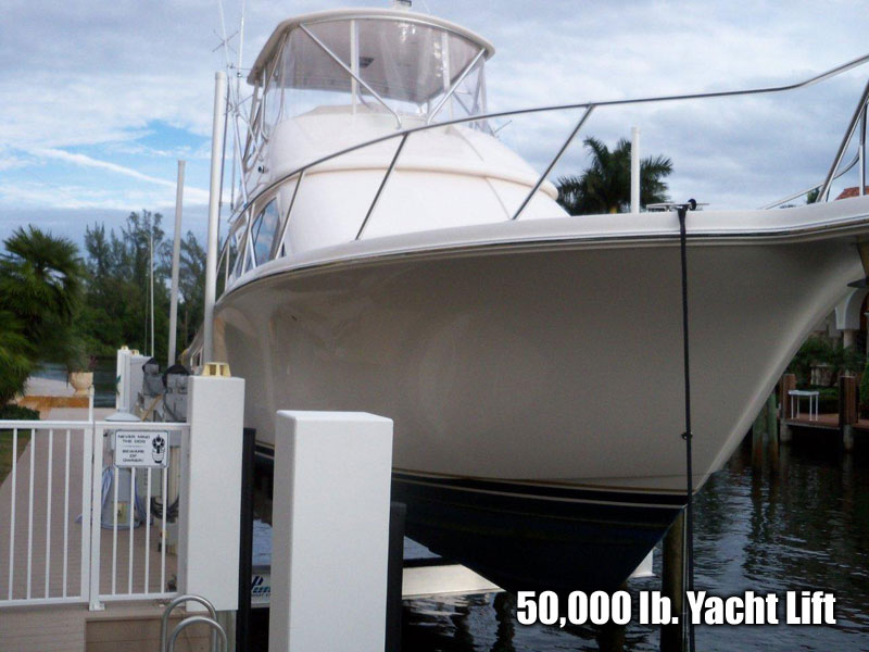 50,000 lb. Yacht Lift
