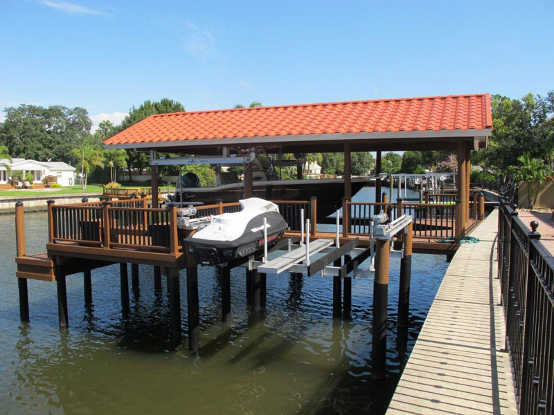 Boat House and Lifts
