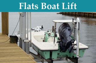 Flats Boat Lift