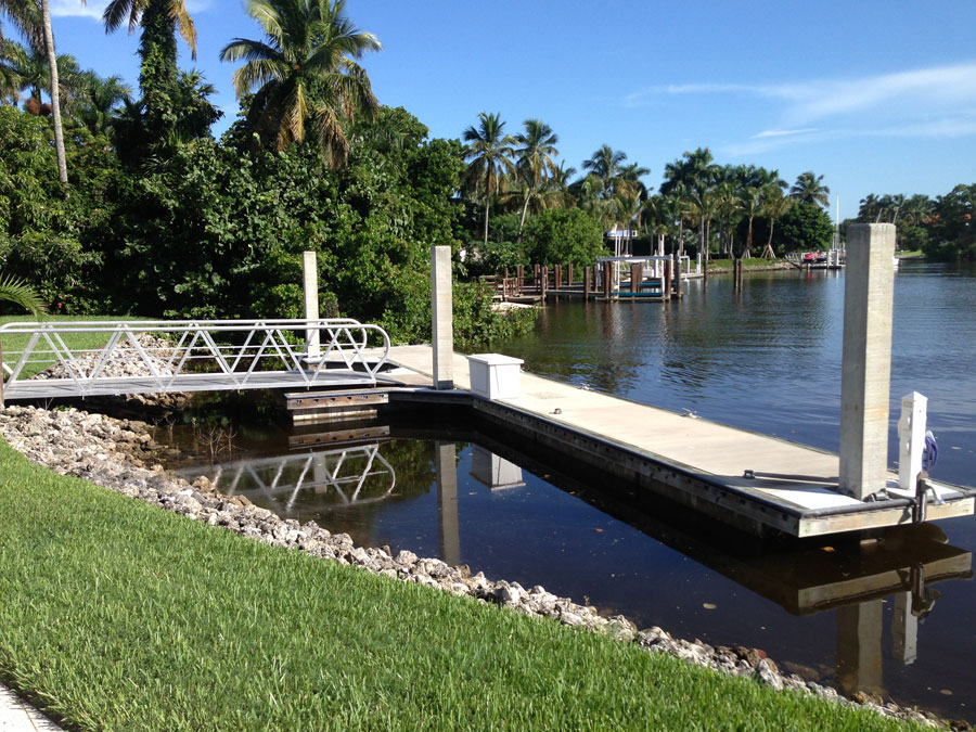 Concrete Floating Dock