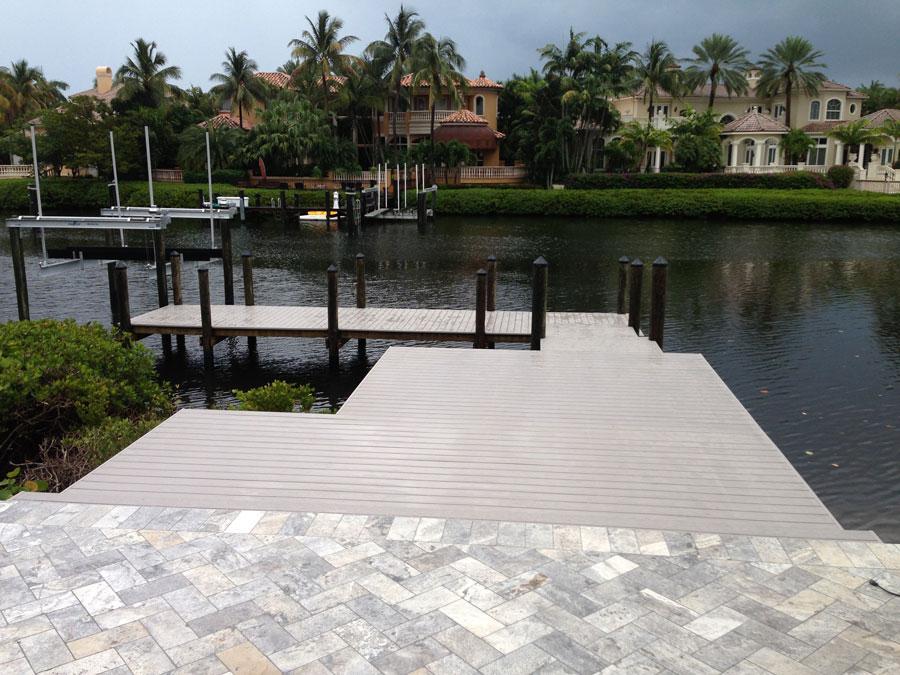 AZEK Slate Gray Dock